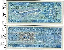 Изображение Банкноты Нидерланды Антильские острова 2 1/2 гульдена 1970  UNC