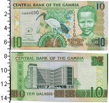 Изображение Банкноты Африка Гамбия 10 даласи 0  UNC
