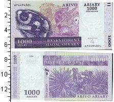 Изображение Банкноты Мадагаскар 1000 ариари 2004  UNC