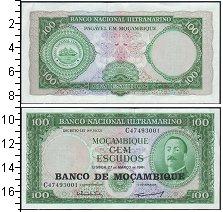 Изображение Банкноты Мозамбик 100 эскудо 1961  UNC
