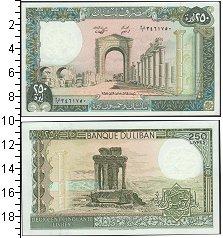 Изображение Банкноты Азия Ливан 250 ливров 1988  UNC