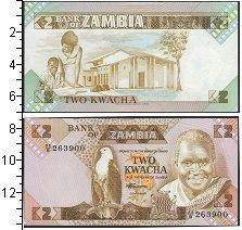 Изображение Банкноты Африка Замбия 2 квачи 0  UNC