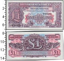 Изображение Банкноты Европа Великобритания 1 фунт 0  UNC