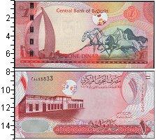 Изображение Банкноты Бахрейн 1 динар 2006  UNC