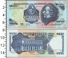 Изображение Банкноты Южная Америка Уругвай 50 песо 0  UNC