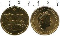 Изображение Мелочь Австралия и Океания Австралия 1 доллар 2009  UNC-