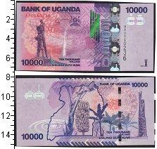 Изображение Банкноты Уганда 10000 шиллингов 2013  UNC