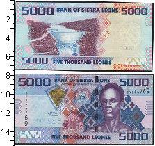 Изображение Банкноты Африка Сьерра-Леоне 5000 леоне 2010  UNC
