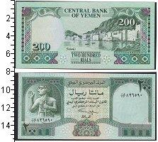 Изображение Банкноты Йемен 200 риалов 0  UNC