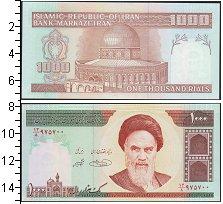 Изображение Банкноты Азия Иран 1000 риалов 1992  UNC