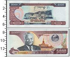 Изображение Банкноты Азия Лаос 5000 кип 2003  UNC
