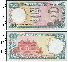 Изображение Банкноты Бангладеш 10 така 0  UNC