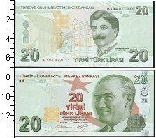 Изображение Банкноты Турция 20 лир 2009  UNC