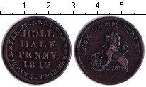 Изображение Монеты Европа Великобритания 1/2 пенни 1812 Медь XF