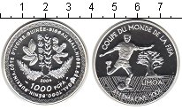 Изображение Монеты КФА 1000 франков 2004 Серебро Proof- FIFA 2006.