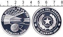 Изображение Монеты Южная Америка Парагвай 1 гуарани 2004 Серебро Proof