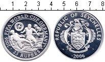 Изображение Монеты Африка Сейшелы 25 рупий 2006 Серебро Proof