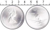 Изображение Мелочь Северная Америка Канада 5 долларов 1976 Серебро UNC