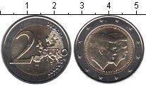 Изображение Мелочь Нидерланды 2 евро 2014 Биметалл UNC