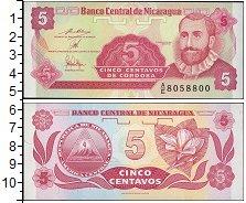 Изображение Банкноты Северная Америка Никарагуа 5 сентаво 0  UNC