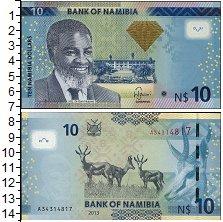 Изображение Банкноты Африка Намибия 10 долларов 2013  UNC