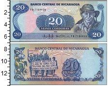 Изображение Банкноты Никарагуа 20 кордоба 1985  UNC