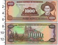 Изображение Банкноты Северная Америка Никарагуа 1000 кордоба 1985  UNC