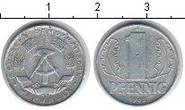 Изображение Дешевые монеты ГДР 1 пфенниг 1968