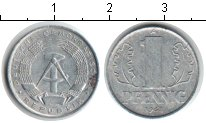 Изображение Дешевые монеты ГДР 1 пфенниг 1963