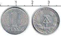 Изображение Дешевые монеты ГДР 1 пфенниг 1975