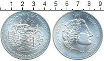 Изображение Монеты Нидерланды Антильские острова 25 гульденов 1973 Серебро UNC