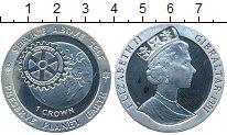 Изображение Монеты Гибралтар 1 крона 1991 Серебро Proof- Елизавета II