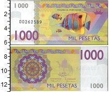 Изображение Банкноты Сахара Кабо Дахла 1000 песет 0  UNC