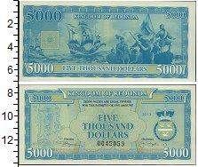 Изображение Банкноты Редонда 5000 долларов 2013  UNC-