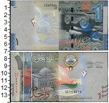 Изображение Банкноты Кувейт 1 динар 2014  UNC