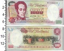 Изображение Банкноты Венесуэла 1000 боливар 1998  UNC