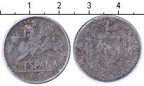 Изображение Дешевые монеты Европа Испания 10 сентим 1953 Алюминий VF