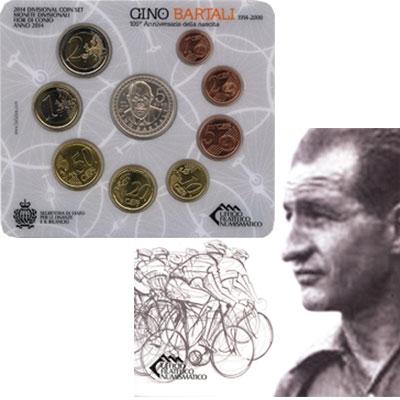 Изображение Подарочные монеты Европа Сан-Марино Выпуск 2014 года 2014  UNC
