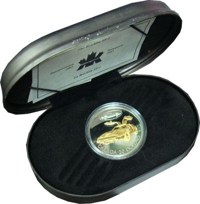 Изображение Подарочные монеты Северная Америка Канада 20 долларов 2003 Серебро Proof