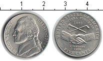 Изображение Мелочь США 5 центов 2004 Медно-никель UNC