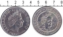 Изображение Монеты Европа Великобритания 5 фунтов 2002 Медно-никель XF
