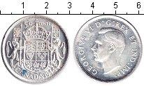 Изображение Монеты Канада 50 центов 1944 Серебро XF Георг VI.
