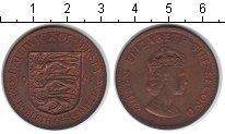 Изображение Монеты Остров Джерси 1/12 шиллинга 1964 Медь UNC-