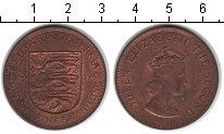 Изображение Монеты Великобритания Остров Джерси 1/12 шиллинга 1966 Медь UNC-