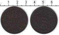 Изображение Монеты Великобритания Гернси 8 дублей 1889 Медь VF