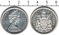 Изображение Монеты Канада 50 центов 1965 Серебро XF