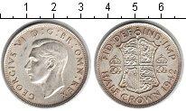 Изображение Монеты Великобритания 1/2 кроны 1942 Серебро XF Георг VI.