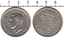 Изображение Монеты Европа Великобритания 1/2 кроны 1943 Серебро XF