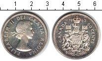 Изображение Монеты Северная Америка Канада 50 центов 1963 Серебро XF