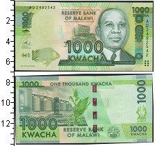 Изображение Банкноты Малави 1000 квач 2013  UNC-